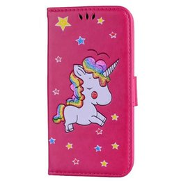 Huawei p8 lite poucHes online shopping - Unicorn Horse Wallet Leather Case For Iphone X XS Max XR S Plus Ipod Touch Huawei P9 P10 P8 Lite Cell Phone Stand Cover