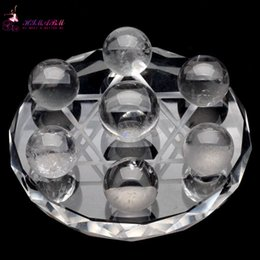 Wholesale HIMABM Rock Crystal Quartz Method Crystal Healing Absorb Energy Psychic Astrology Telepathize Scholomance for Health Care