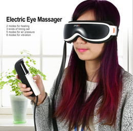 Eye Massage Massager Canada - New Arrival Pango Electric Eye Massager Alleviate Fatigue Slight Magnetic Vibration Massage Health Care Machine #PG-2404G