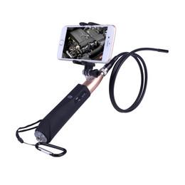 2017 новый портативный Wifi Selfie эндоскоп камеры 5,5 мм объектив 6 светодиодов водонепроницаемый IOS / Android эндоскоп инспекции бороскоп камеры