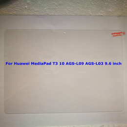 $enCountryForm.capitalKeyWord Australia - Tempered Glass Film for Huawei Mediapad T3 7 8 KOB-L09 KOB-W09 10 AGS-L03 AGS-L09 Wifi AGS-W09 Tablet Screen Protector Cleaning Wipes 50pcs