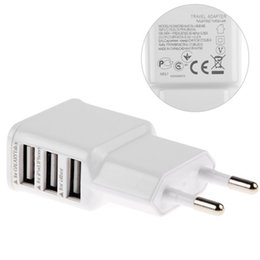 Iphone charger usb cable 4s online shopping - Adapter A V USB Ports EU Plug Wall Charger cable for iPhone7 s s s HTC Samsung galaxy S5 S4 note note4 mobile phone ps