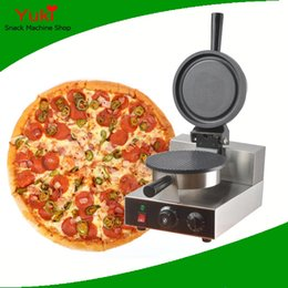 pizza machines 2019 - Electric Pizza Bowl Machine Pizza Pan Waffle Machine Commercial Muffin Pie Machine Kitchen Snack Food Equipment