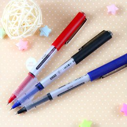$enCountryForm.capitalKeyWord Canada - 72 Pcs Lot Roller Pen 3 Color Gel Pens Liquid Ink Office Material School Supplies Stationery Papelaria Canetas Escolar