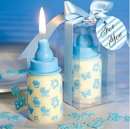 Lot Baby Bottle Candle Favors Baby Shower Wedding Favors Party Gifts  Centerpieces Giveaway Accessories Free Shipping