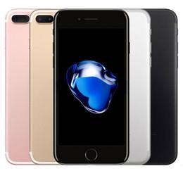 Опт Оригинальный Apple iphone 7 7 Plus с сенсорным ID 32GB 128GB iOS10 Quad Core 12.0 MP отремонтированный разблокированный телефон