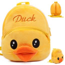 $enCountryForm.capitalKeyWord Canada - Cute New Pattern Kindergarten 1-2 Year Baby Small Plush Bag Early Education Park Both Shoulders Backpack Kindergarten Toys High Quality Bag
