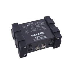 China NUX PDI-1G Guitar Direct Injection Phantom Power Box Audio Mixer Para Out Compact Design Metal Housing Top Quality guitar effects pedals suppliers