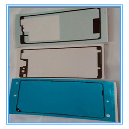 lcd sticker for sony Canada - 1 Sets=3PCS New Front + Back Adhesive Glue Tap Sticker For Sony Xperia Z1 Compact D5503 Z1 Mini M51w LCD Plate Full Stickers