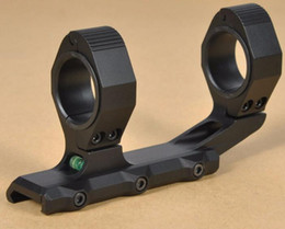 """$enCountryForm.capitalKeyWord Canada - 1"""" 30mm Scope Mount Cantilever Bracket for Optic Sight With Bubble Level 1"""" Eye Relief for AK AR Fit Picatinny Weaver"""