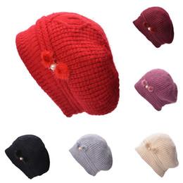 China Casual Beanie Women Winter Warm Angora Knit Hats Beret Skullies Stylish Fleece Inside Ski Cap A463 suppliers