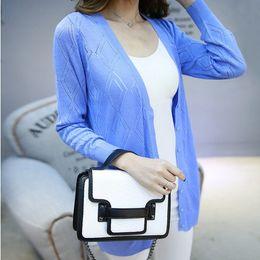 d36b01f4621a3 2017 shirt cardigan Wholesale- Cardigan female summer 2015 loose thin  medium-long cutout outerwear