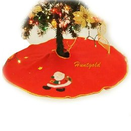 Chinese  Wholesale- Hot Christmas Party Decoration Snowman Tree Wrap Round Skirt Nonwovens Apron manufacturers