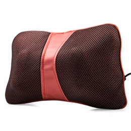 Wholesale Multi Function Bone Shape Neck Back Deep Kneading Massage Pillow for Car Home with US Plug