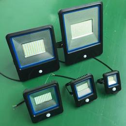 Pir floodlights online shopping - 10W W W W PIR LED Flood light White Warm Floodlight Sensor A85V V Outdoor Garden Lamp LED wash light