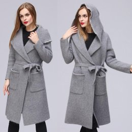 Knitted Mink Hooded Coat Australia | New Featured Knitted Mink ...