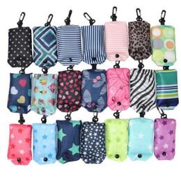 999ff28ac1 Newest Nylon Foldable Shopping Bags Reusable Eco-Friendly folding Bags  Shopping Bags new Ladies free shipping IB002