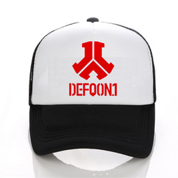 Wholesale- New Fashion Rushed Defqon.1 Rock Band Winter Bomber baseball Cap  men Jackets Casual Hip Hop Mens Snapback Hat 40e5a866cc3a