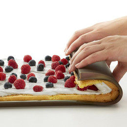 Discount macaron tools - Non-stick Silicone Oven Mat Cake Roll Mat Baking Mat Functional Baking Macaron Cake Pad Swiss Roll Pad Bakeware Baking T