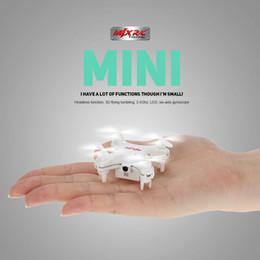 New Mini Drone Camera Canada - New Arrival Original MJX X905C RC Mini Drones 4CH 6-Axis Gyro RTF RC Quadcopter with 0.3MP Camera and Headless Mode