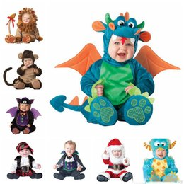 Barato Macacões De Lã De Bebê-Kids Clothes Fleece Romper Set Baby Boys Girls Macas Macacões 2017 Winter Animal Cosplay Shapes Halloween Christmas Costume 24 style