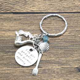 men gadgets 2019 - 12pcs lot Ariel Inspired Little Mermaid keyring I've got gadgets and gizmos aplenty. Little Mermaid jewelry Giftcry