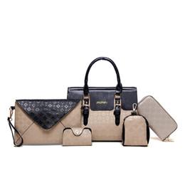 5pcs set handbags online shopping - 2017 New fashion Composite Bags set designer handbags totes messenger bags handbags purses bags