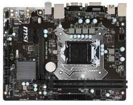 Wholesale Desktop Motherboard H110 LGA1151 for MSI H110M Pro-VD DDR4 Max Ram 32GB Support CPU G4560 G4600 7100 Core i3 i5 i7 PCI Micro ATX Mainboard