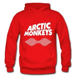 arctic monkeys shirt UK - Arctic Monkeys Am Logo Soundwave Hooded Top Music Band Rock Pullover Hoody Hoodie Hood Sweat shirt Top