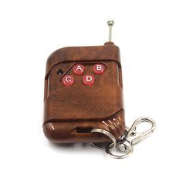 Wireless Door Key Canada - Wholesale-RF 433mhz Garage Door Remote Control Universal Wireless 4-key Remoto Control Controller