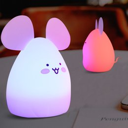 $enCountryForm.capitalKeyWord NZ - Colorful spoiled pet rubber lamp charge induction atmosphere sleep night light anti-fall shock