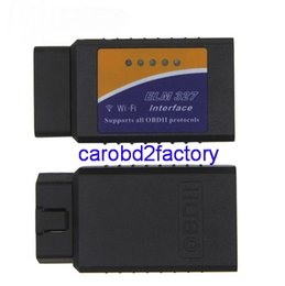 $enCountryForm.capitalKeyWord NZ - Factory Wholesales High quality WIFI elm327 V1.5 OBDII wifi elm327 interface for Android IOS Wireless 10pcs lot with DHL Free Shipping