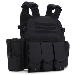 $enCountryForm.capitalKeyWord NZ - Cheap Sports outdoor US Molle Tactical Vest CS Combat Vest Hunting Practical Plate Carrier for Sale