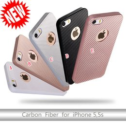 White Carbon Fiber Skin Canada - Carbon Fiber TPU Soft Silicone gel Case For Iphone 7 I7 7PLUS 6 6S 5 5S SE Huawei P9 Plus P8 LITE 2017 Rubber Cover Skin Phone Luxury 100pcs