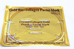 $enCountryForm.capitalKeyWord Canada - 2018 HOTTEST Gold Bio-Collagen Facial Mask Crystal Powder Collagen Facial Mask Moisturizing makeup Skin Care with Collagen lip mask gift