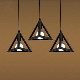Discount Pendant Lighting Fixtures For Kitchen Vintage Industrial Retro Pendant Lamp Loft E27 Edison Lights Holder