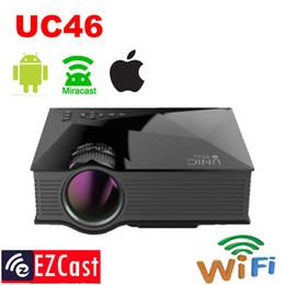 $enCountryForm.capitalKeyWord Australia - Wholesale-Wifi Wireless Mirror Miracast Projection UC46 1300Lumens HD HDMI Digital Multimedia LED Mini Projector Proyector Projetor
