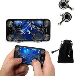 Dual analog sticks online shopping - Mobile Joystick Dual Analog Joysticks for Smartphone Gaming Dual stick Control for Phone Pad Pod Touch with Retail Package up