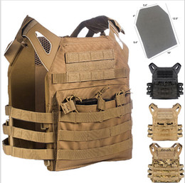 tactical vest airsoft paintball 2018 - Armor Tactical JPC Plate Carrier Vest Ammo Magazine Chest Rig Airsoft Paintball Gear Loading Bear System for body Sports