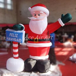 Online Shopping High Quality Meters Tall Ground Inflatable Christmas Santa  Claus Feliz Navidad For Decoration Or