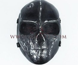 paintball equipment 2019 - Skull Mask Army Outdoors Field Equipment Zombie Mask for Airsoft Paintball Resistant Fighting Hero