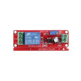 12v dc timer switch online shopping - DC V Pull Delay Timer Switch Adjustable Module to Second