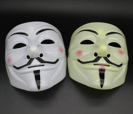 film guy fawkes mask Australia - Party Masks V for Vendetta Masks Anonymous Guy Fawkes Fancy Dress Adult Costume Accessory Party Cosplay Masks For Halloween Party