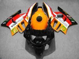 $enCountryForm.capitalKeyWord Australia - Motorcycle Fairing kit for HONDA CBR600F3 95 96 CBR600 F3 CBR 600F3 1995 1996 CBR 600 ABS Orange red Fairings set+8gifts HM15