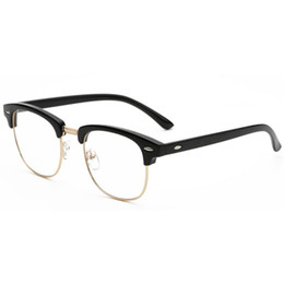 4403d4d7f811 Newest Eyeglass Frames UK - Wholesale- Newest Style Round Glasses frame For  Girl Vintage Eyeglasses