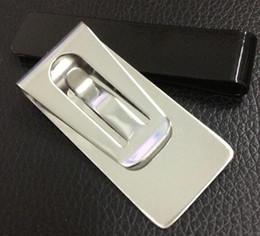 очень хорошая цена тонкий кошелек зажим зажим карты из нержавеющей стали держатель кредитной карты имя держателя