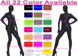Costumes Sexy À Corps Entier Pas Cher-Unisexe Complet Corps Costume Outfit Nouveau 23 Couleur Lycra Spandex Costume Catsuit Costumes Sexy Body Costumes Halloween Fantaisie Robe Cosplay Costume P108