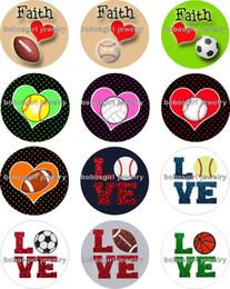 $enCountryForm.capitalKeyWord Canada - Free shipping Football Baseball Snap button Jewelry Charm Popper for Snap Jewelry good quality 12pcs   lot Gl211 jewelry making
