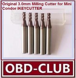 $enCountryForm.capitalKeyWord Canada - Original 3.0mm Milling Cutter for Mini Condor IKEYCUTTER CONDOR XC-007 Master Series Key Cutting Machine