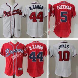902d09106 ... Flexbase Majestic Baseball Jersey Mens Atlanta Braves baseball jerseys  5 Freddie Freeman 44 Hank Aaron 10 Chipper Jones Authentic Collection ...